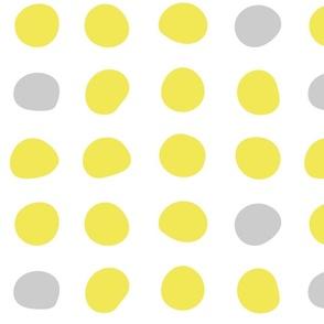 Safflower Gray Circles