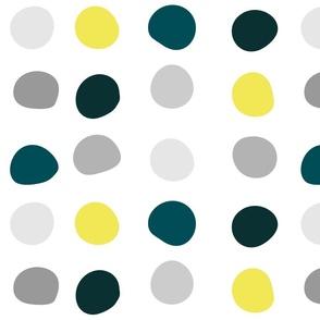 Color Dots - irregular spacing