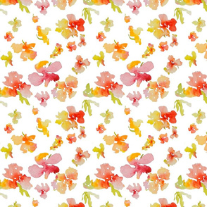 Watercolor Flower Spring 2013 Collection