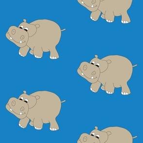 Blue Hippo