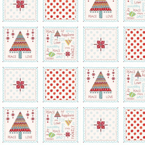 Holiday Cocktail Napkins Set | alexcolombo.com