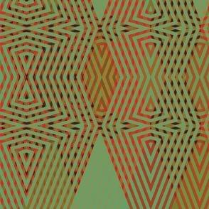 op-art-green-red