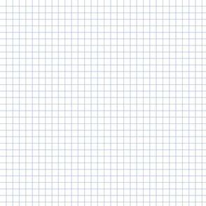 Graph Paper - Plain Blue