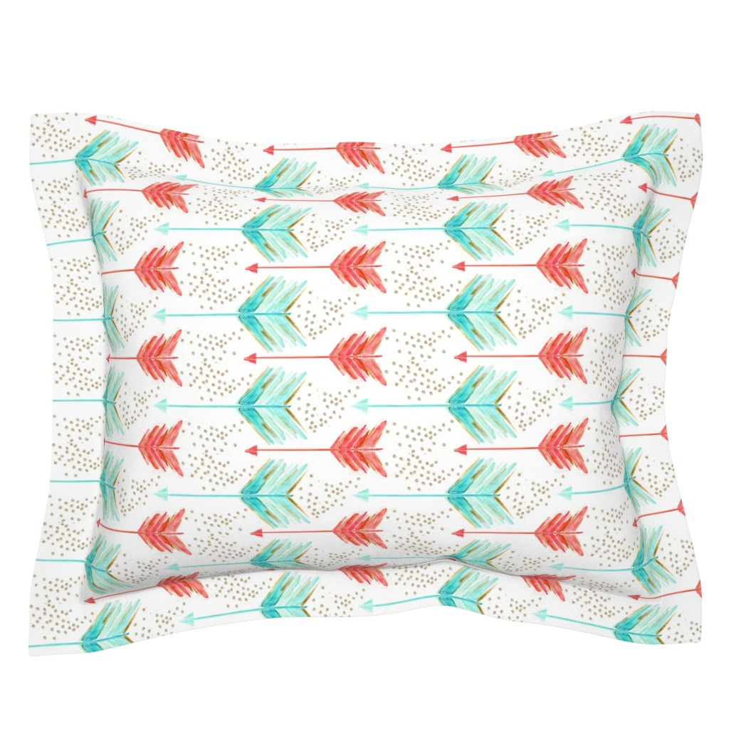 Sebright Pillow Sham featuring .a shot in water. by emilysanford