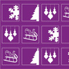 1560455-sugar-plum-holiday-cocktail-napkins-by-yespleasestudio