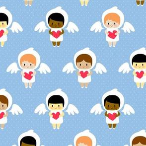 Kawaii angels (blue)