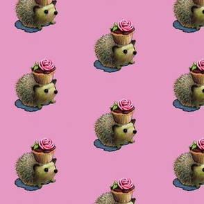 Cupcake Hedgehog