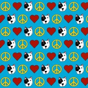 Tiny Peace, Love, Pit Bulls