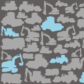 Boyz Toys Grey Blue Wallpaper Large