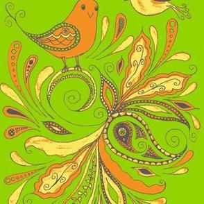 fancy birds-grn