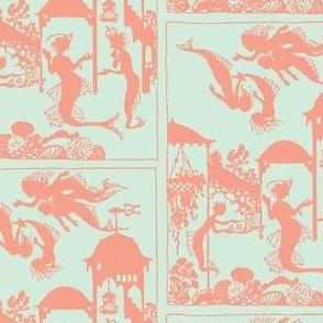Mermaid Town wallpaper