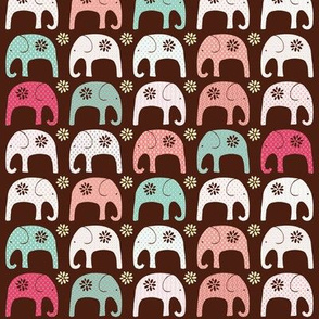 Indian Elephant Parade Red