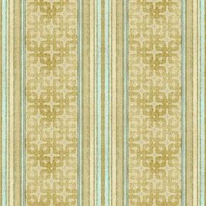 Linen Cross Stripe
