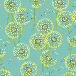 fanciful flight - make a dandelion wish!