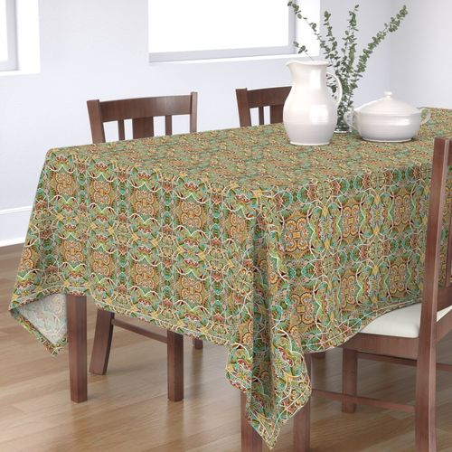 Shop Fleur de lis Table Runners and Tablecloths | Roostery ...