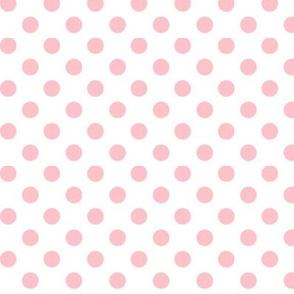 polka dots light pink