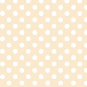 polka dots 2 ivory