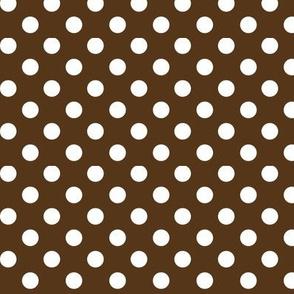 polka dots 2 brown