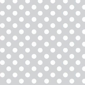 polka dots 2 light grey