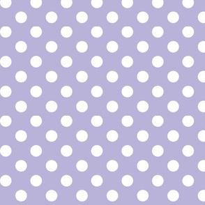 polka dots 2 light purple