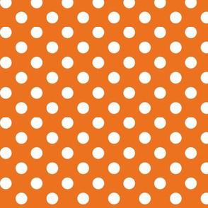 polka dots 2 orange