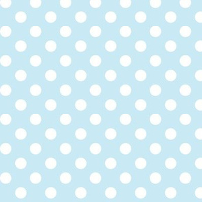 polka dots 2 ice blue