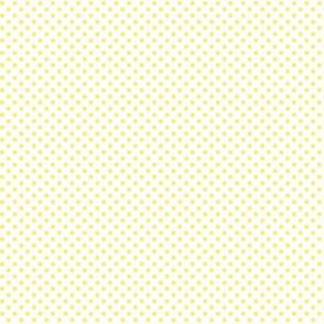 mini polka dots lemon yellow