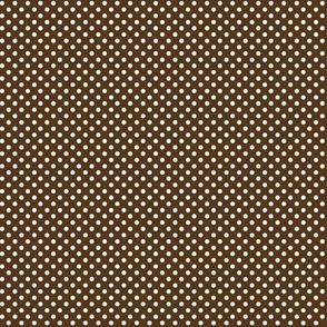 mini polka dots 2 brown