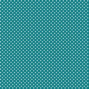 mini polka dots 2 dark teal