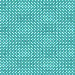 mini polka dots 2 teal