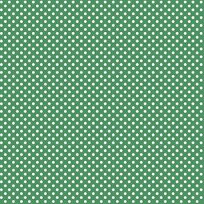 mini polka dots 2 kelly green