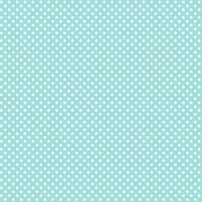 mini polka dots 2 light teal