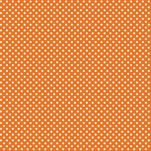 mini polka dots 2 orange