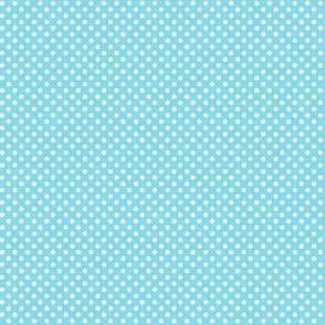 mini polka dots 2 sky blue