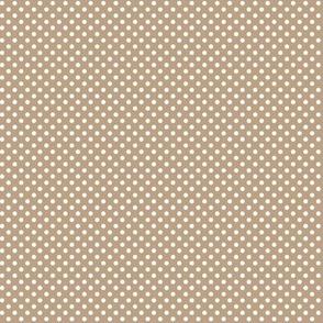 mini polka dots 2 tan