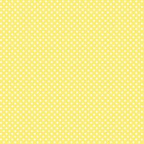 mini polka dots 2 lemon yellow