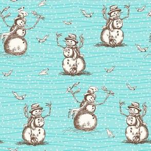 Winter Fun Snowman