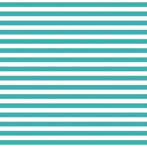stripes teal