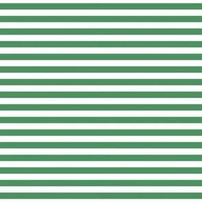 stripes kelly green