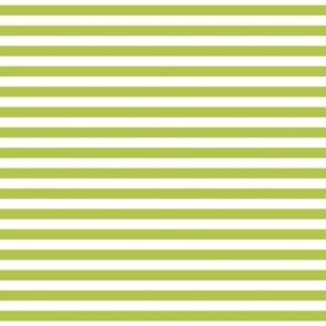 stripes lime green