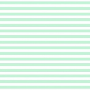 stripes ice mint green