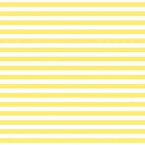 stripes lemon yellow