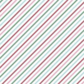 christmas candy cane stripes multi