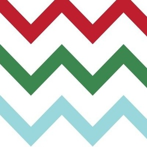 christmas chevron multi one LG