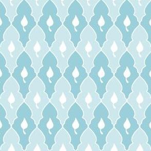 Princess Leaf - Ice Blue