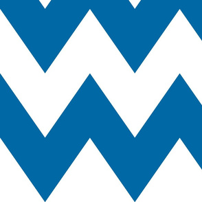 chevron xl royal blue