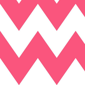 chevron xl hot pink