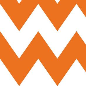 chevron xl orange