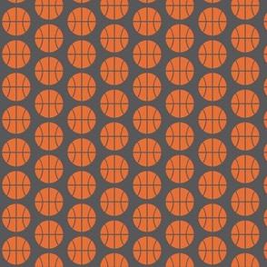 Small Half-Drop Orange Basketball