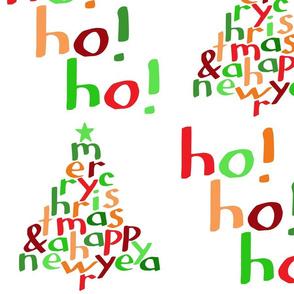 Merry Christmas Ho! Ho! Ho! (large)